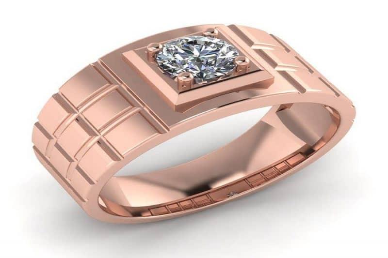 Mẫu nhẫn vàng hồng nam có gì đặc biệt?