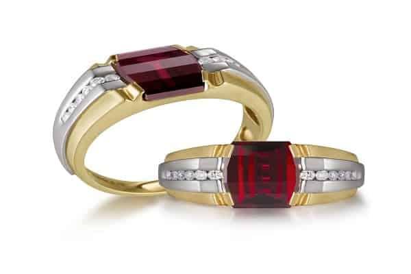 Nhẫn vàng nam phong thủy cho người mệnh Hỏa