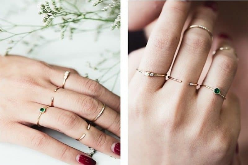 Sản phẩm nhẫn vàng nữ 18k có gì khác biệt so với nhẫn 24k