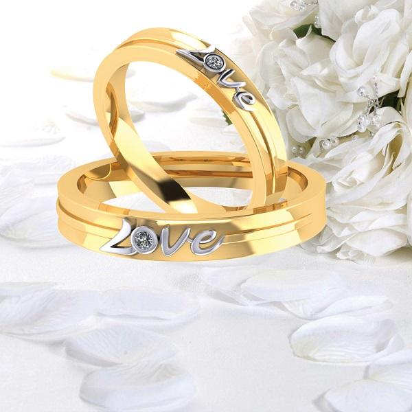 Mẫu nhẫn vàng 18k cho người có phong cách đơn giản, dịu dàng