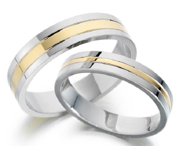 Kiểu nhẫn vàng trắng cao cấp