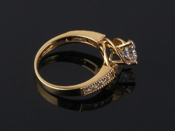 Mẫu nhẫn vàng ý đẹp phong cách châu Âu