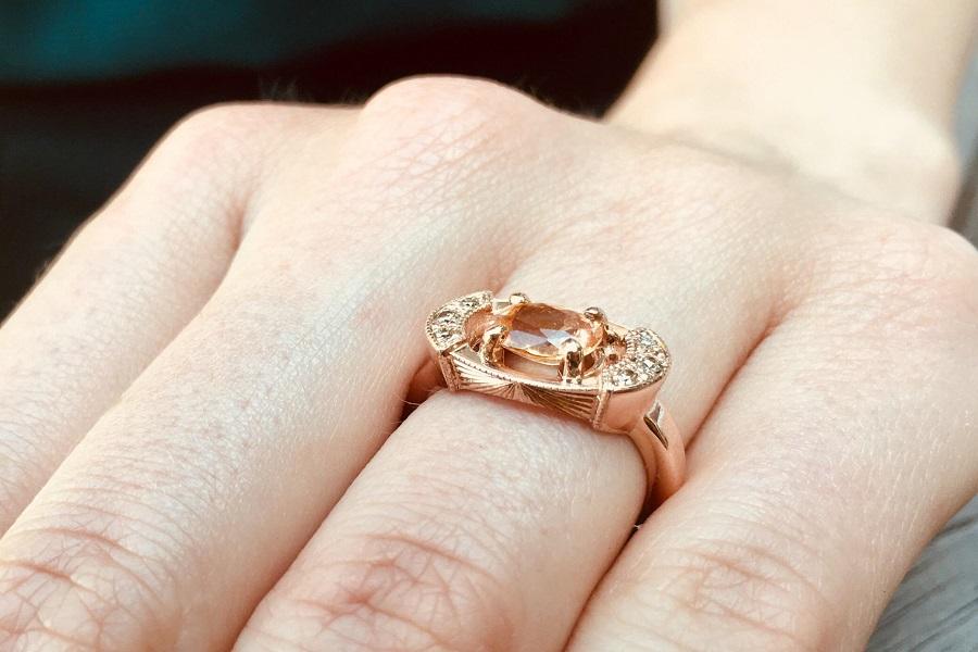 nhẫn vàng nữ