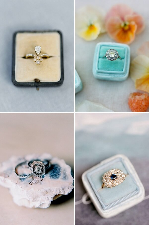 Nhẫn vàng mang phong cách Vintage