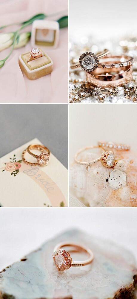 Nhẫn vàng hồng dành cho cô nàng điệu đà