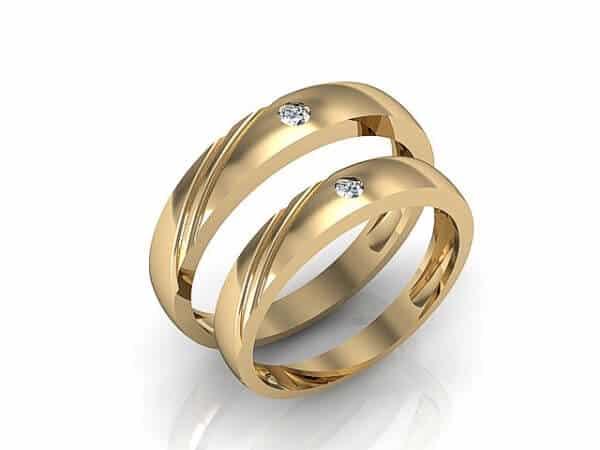 Kiểu dáng nhẫn vàng tây ngày càng đa dạng