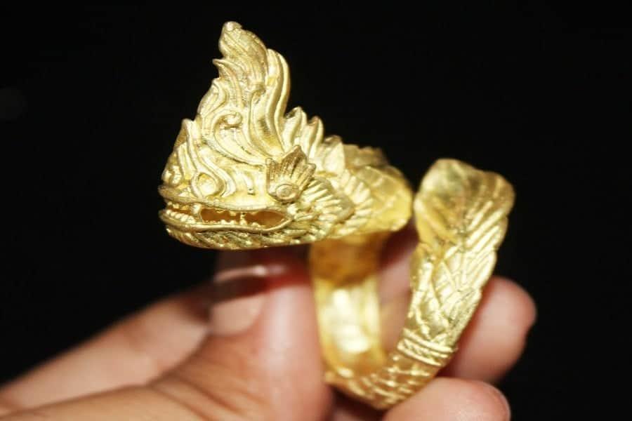 hình ảnh nhẫn vàng 18k