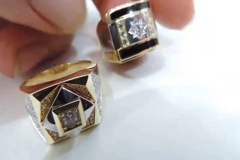Những mẫu nhẫn vàng tây dành cho nam giới