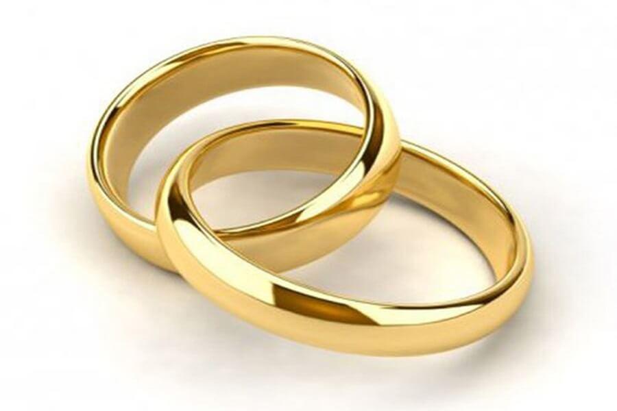 giá nhẫn cưới vàng tây