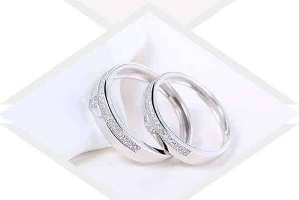 Nhẫn đôi vàng Ý vừa có thẩm mỹ cao vừa giá cả hợp lý