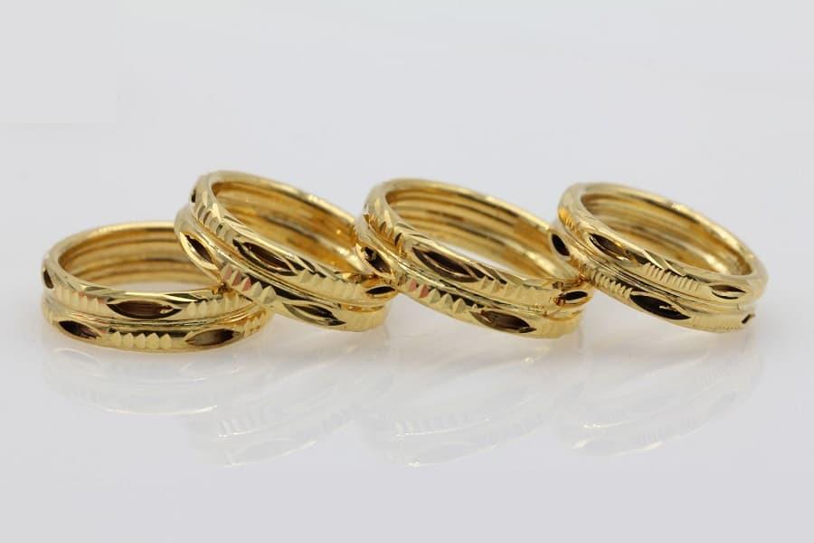 nhẫn vàng italy