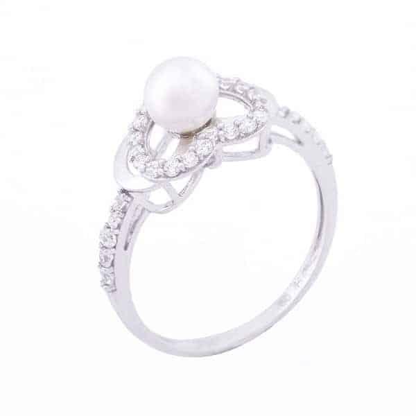 Nhẫn vàng trắng mang lại giá trị cao về kinh tế và mỹ thuật