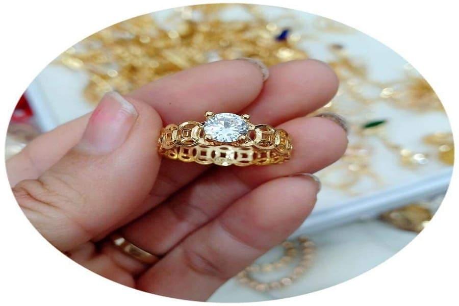 Nhẫn vàng nữ đẹp