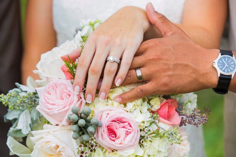 Một số hình ảnh nhẫn vàng cưới đẹp và tinh tế