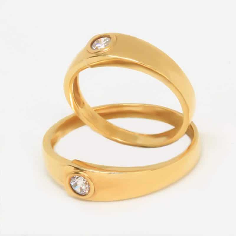 Chất liệu của mẫu nhẫn vàng 18k đẹp ngày càng đa dạng hơn