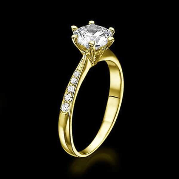 Nhẫn vàng 14k cho cô nàng yêu thích sự trẻ trung, năng động
