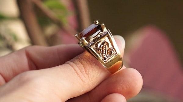 Mẫu nhẫn vàng nam bản to