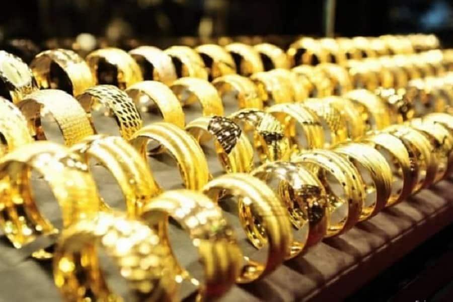 nhẫn vàng nửa chỉ