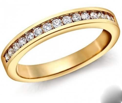 nhẫn vàng tây 1 chỉ