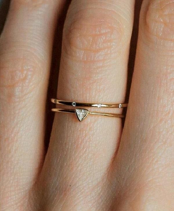 Nhẫn vàng cho những cô nàng yêu thích sự ngọt ngào