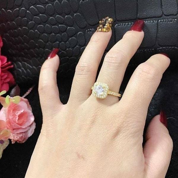 Nhẫn vàng dành cho những cô nàng yêu thích sự thanh lịch và cổ điển