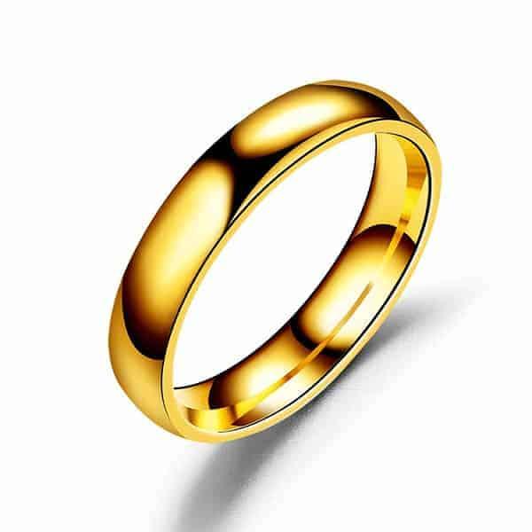 Vàng tây được chế tạo bằng cách nung chảy vàng nguyên chất với một số kim loại màu khác như: đồng, bạc,…