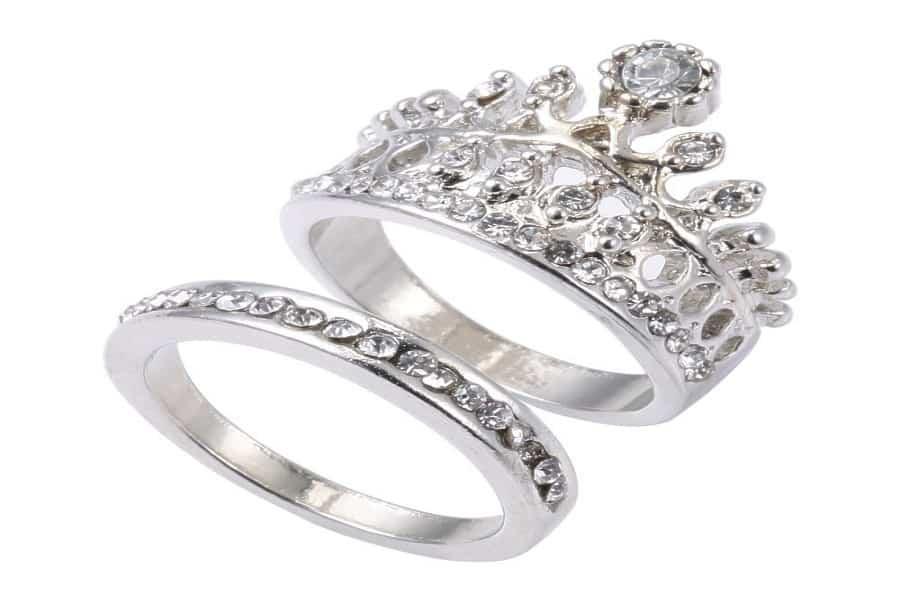 nhẫn vàng trắng cao cấp