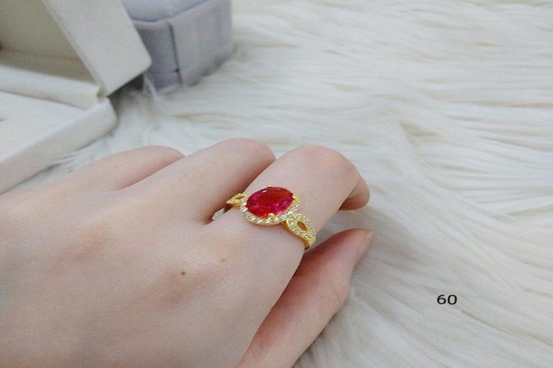 Các mẫu trang sức nhẫn vàng 18k đẹp xuất sắc
