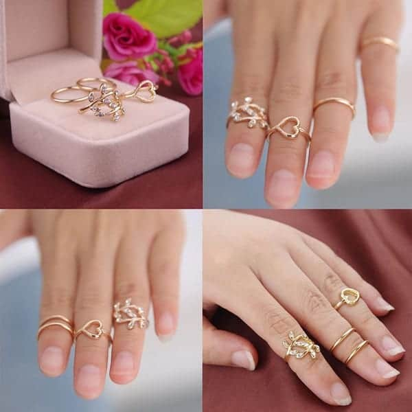 Giá nhẫn vàng phụ thuộc vào nhiều yếu tố như chất liệu vàng, kiểu dáng, yếu tố đính kèm,...