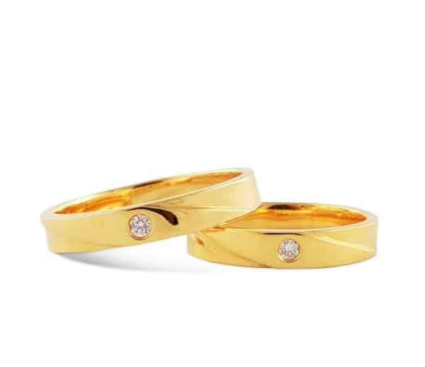 Nhẫn cưới trơn – Kiểu nhẫn cưới đẹp mê hồn