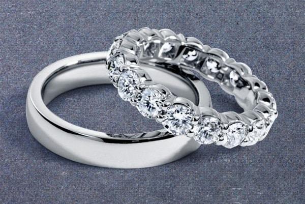 Nhẫn cưới bạch kim đẳng cấp