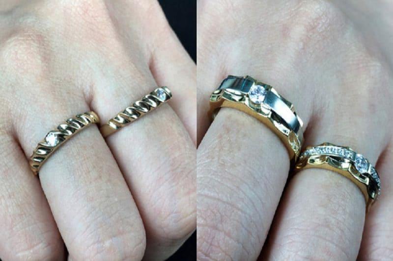 Giá cặp nhẫn cưới chỉ từ 5 triệu đồng cho cặp đôi