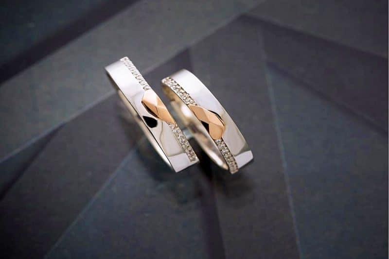 Giá cặp nhẫn cưới 18k khoảng bao nhiêu?