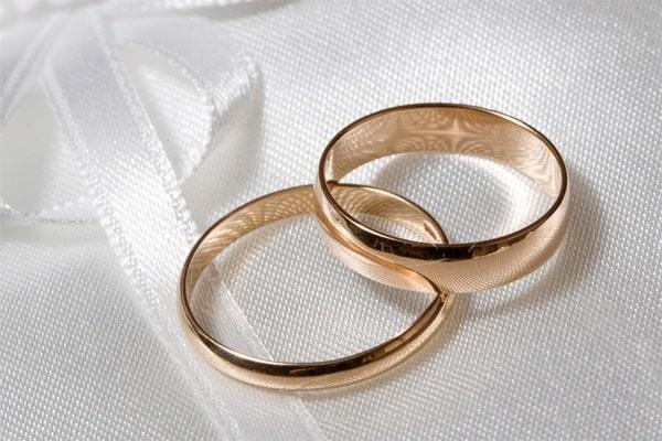Cặp nhẫn cưới vàng hồng