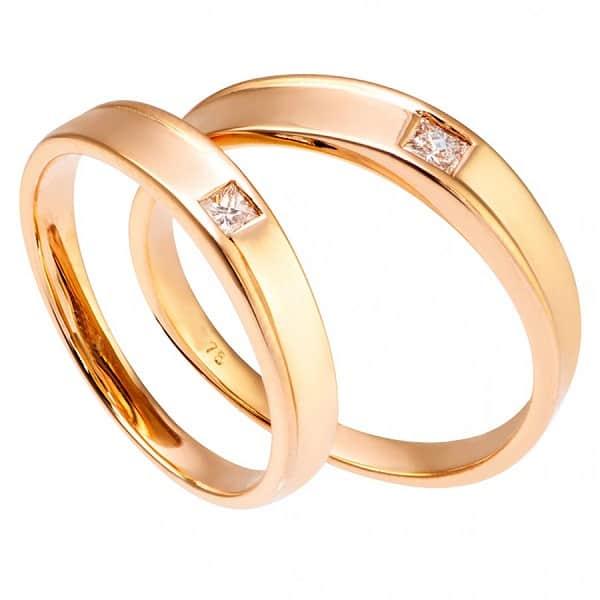 Nhẫn cưới 18k đa dạng mẫu mã