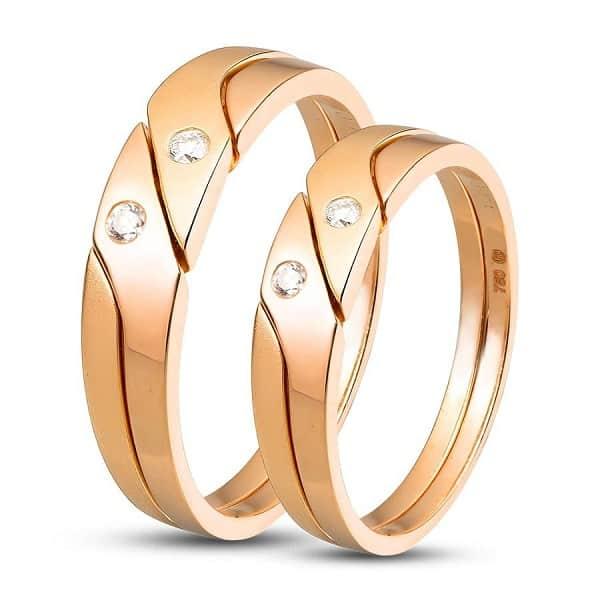 Cặp nhẫn cưới giá rẻ