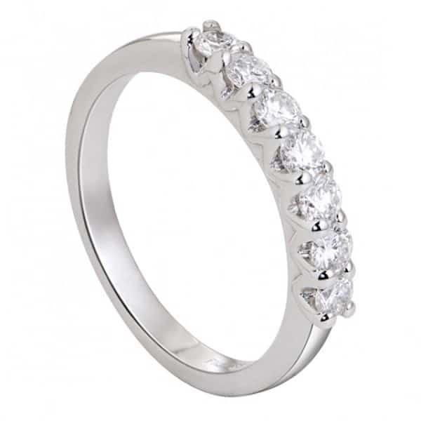 Chọn mẫu nhẫn vàng trắng 18k phù hợp