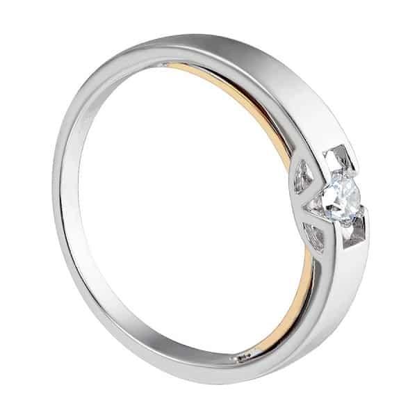 Nhẫn vàng chung đôi vàng trắng 18k spd1809431