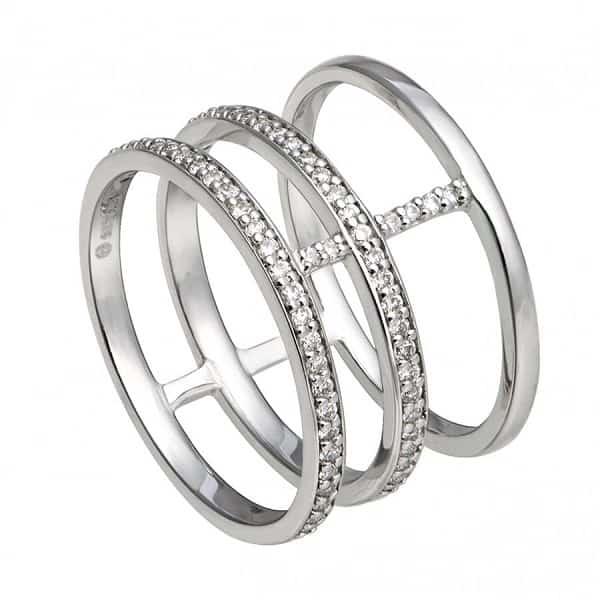 Nhẫn vàng trắng giá trị caoNhẫn vàng trắng giá trị cao