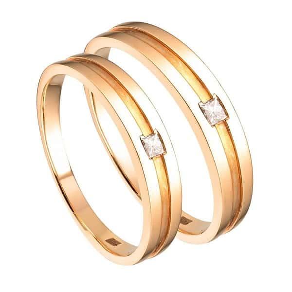 Nhẫn cưới vàng 18k giá hợp lý