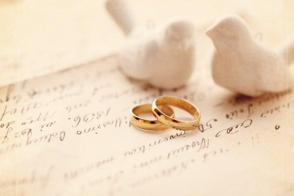 Lưu ý chất liệu làm nhẫn cưới