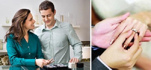 Chọn thời điểm mua nhẫn cưới thích hợp