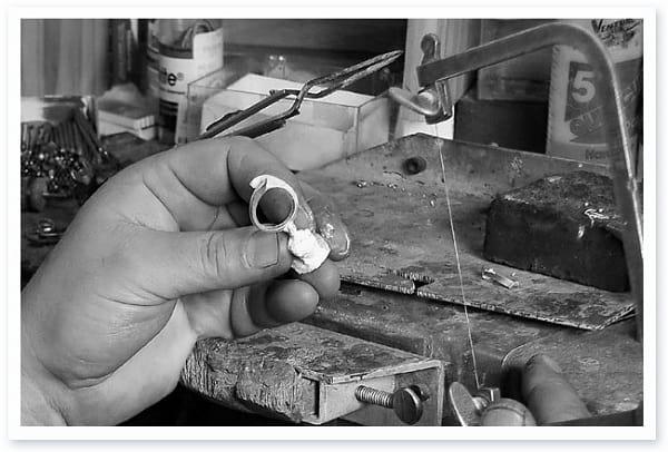Resin chiếc nhẫn cưới ( đúc sáp )