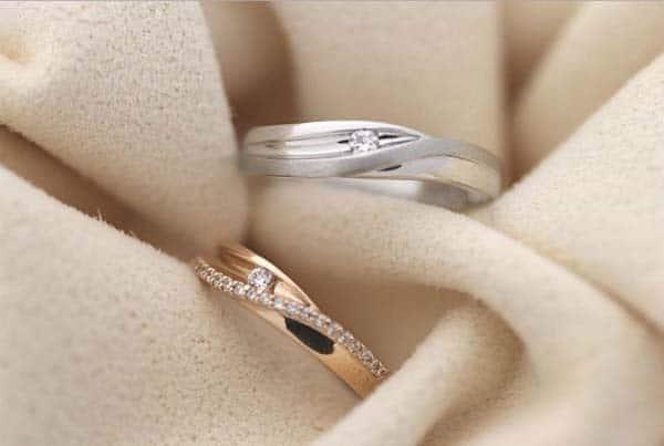 Kiểu nhẫn cưới tính tế, đồng điệu về kiểu dáng