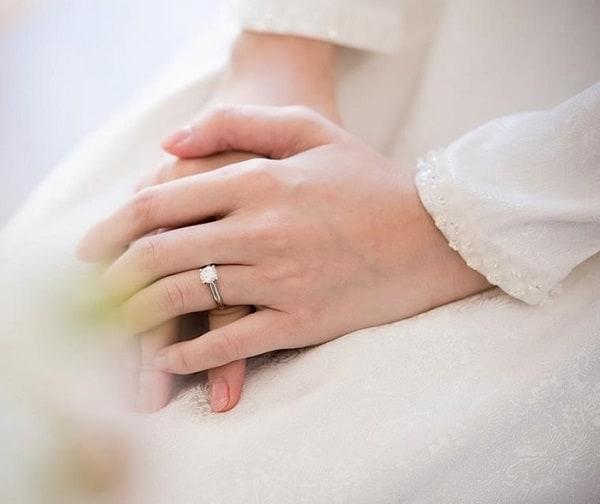 Nhẫn cưới của hoa hậu Đặng Thu Thảo