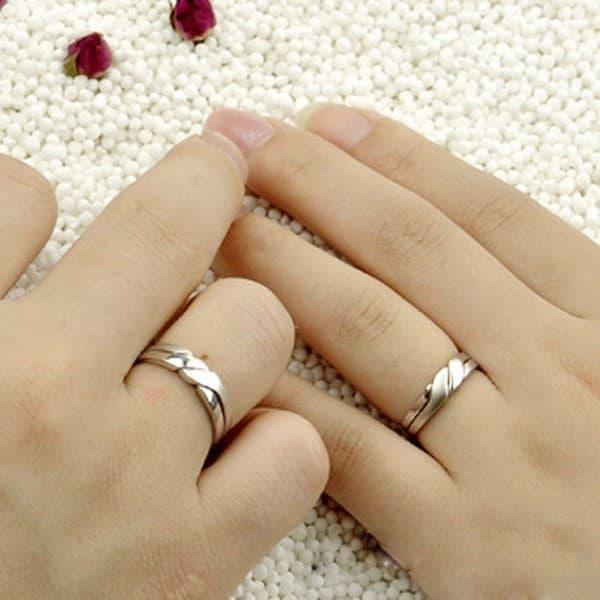 Mẫu nhẫn cưới đẹp, đơn giản phù hợp với mọi cặp đôi
