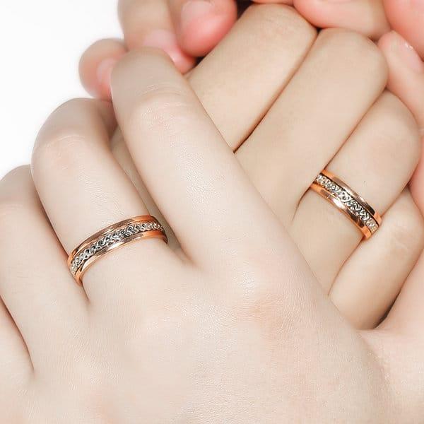 Đa dạng mẫu mã nhẫn cưới