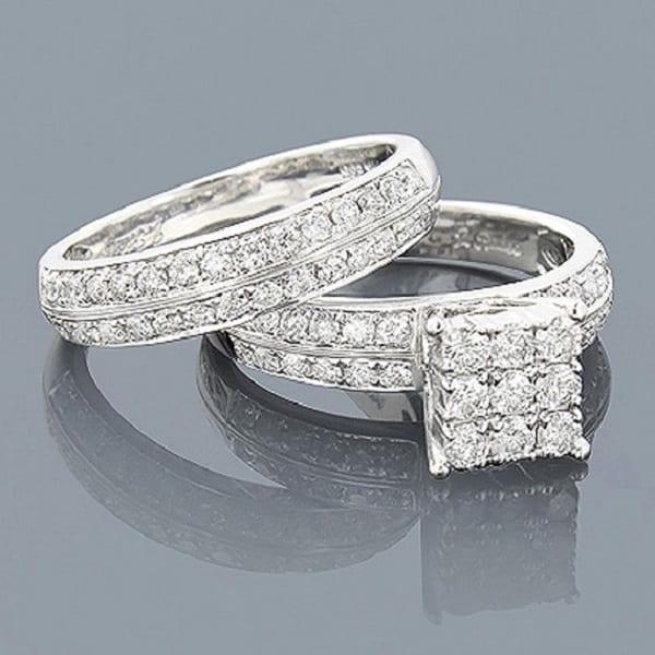 Nhẫn cưới kim cương đẳng cấp