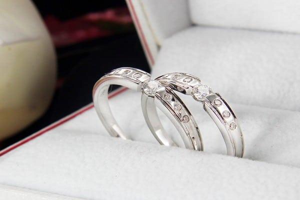 Những mẫu nhẫn cưới mới nhất