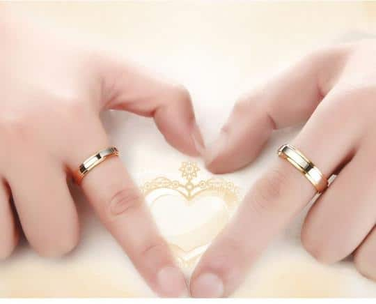 nhẫn cưới đẹp đơn giản